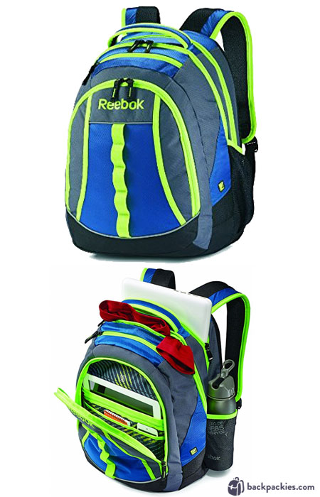 Reebok Thunder Cheif backpack - We list the best affordable backpacks for school. Find more cheap sports backpacks for college or high school at backpackies.com
