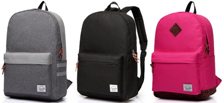 Vaschy Classic Backpack review - We list the best cheap backpacks for school that are stylish and affordable. See the full list at backpackies.com
