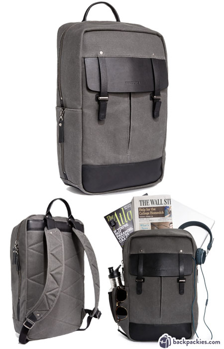 Timbuke2 Cask laptop backpack for men - We list the best men's backpacks for work. Come see which other business backpacks made the list!