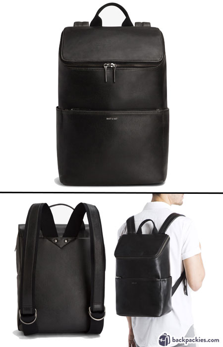 Matt and Nat Dean Vintage backpack for men - We list the best men's backpacks for work. Come see which other sophisticated backpacks made the list!