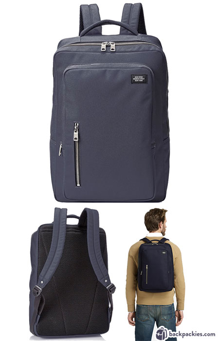 Jack Spade Cargo backpack for men - We list the best men's backpacks for work. Come see which other business backpacks made the list!