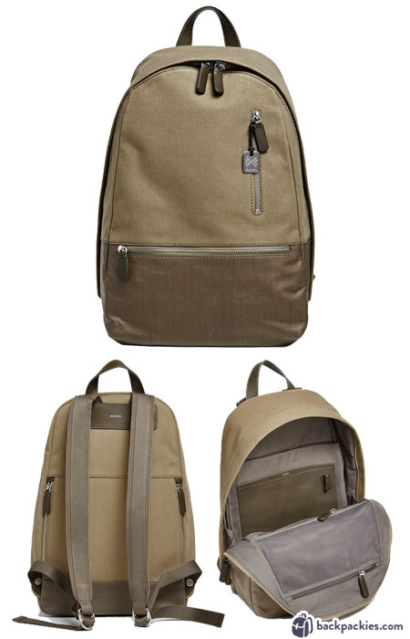 Skagen Kroyer Twill backpack for men - We list the best men's backpacks for work. Come see which other business backpacks made the list!