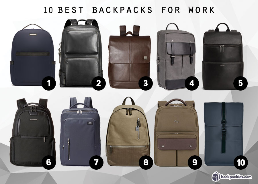 10 best backpacks for work that are professional and stylish - best men's business backpacks