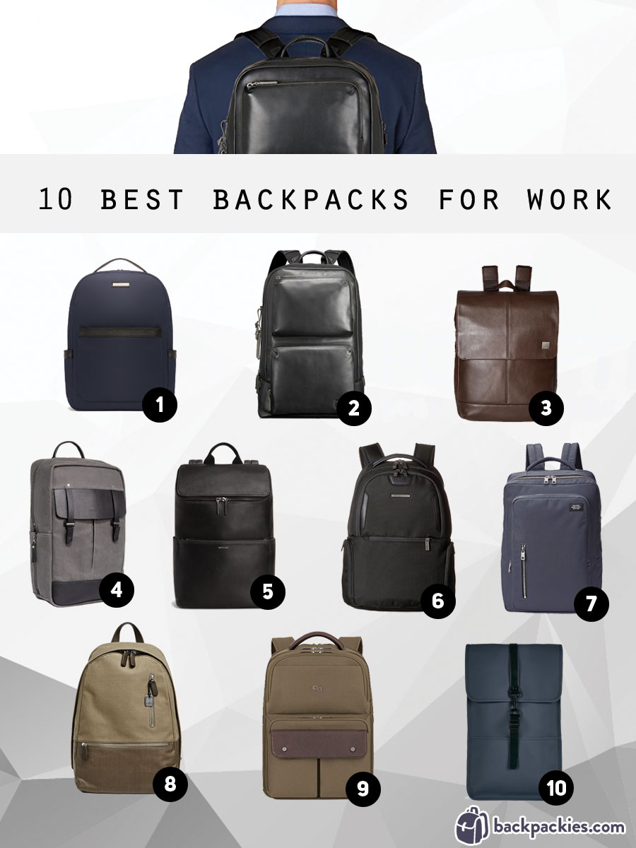 10 best backpacks for work that are professional and stylish