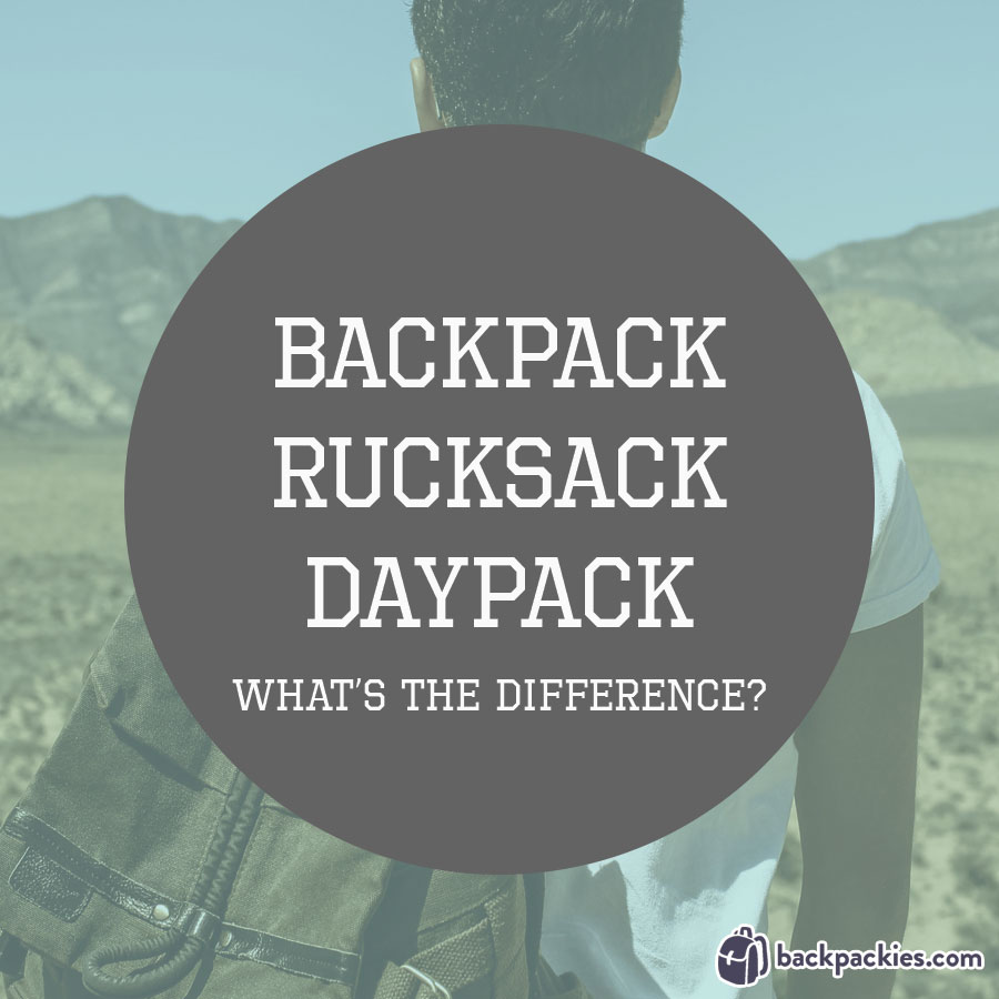 What's the difference between a backpack and a rucksack