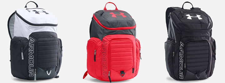 Under Armour Storm Undeniable II backpack. Available in multiple colors.
