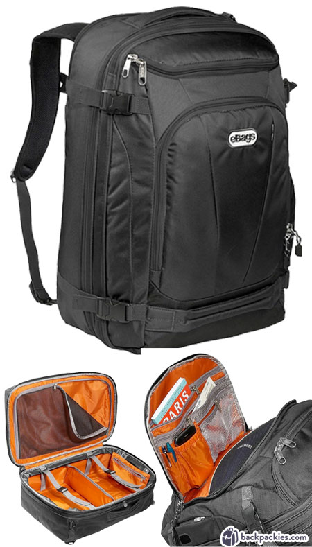 eBags Mother Lode travel backpack - Tom Bihn Aeronaut alternative - Learn more at backpackies.com