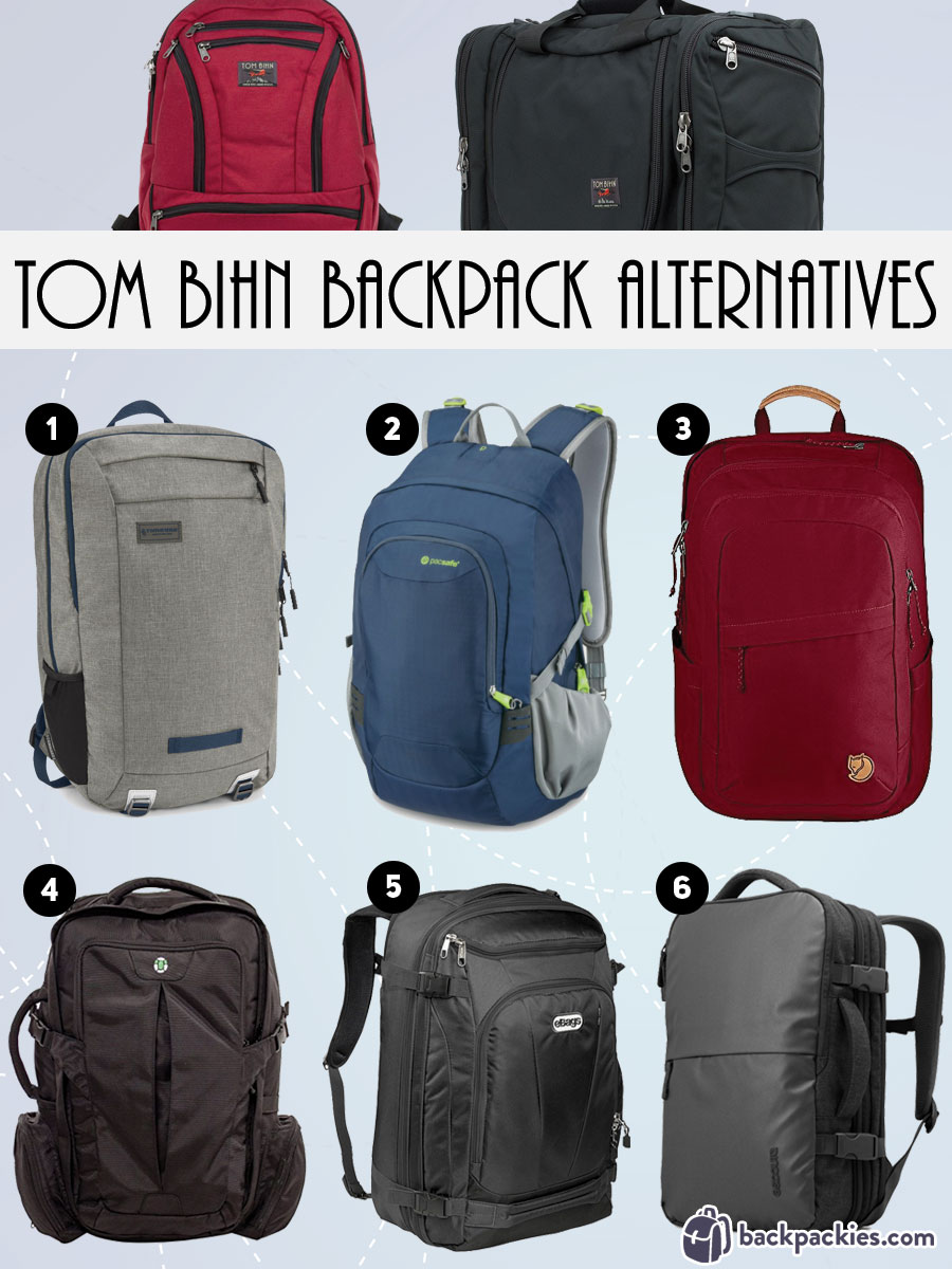 6 Affordable Tom Bihn Alternatives - Synapse 25 alternative and Tom Bihn Aeronaut alternative - backpackies.com
