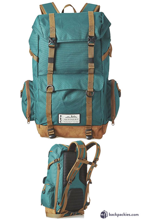 Kavu Camp Sherman backpack - backpacks like Herschel Little America - Learn more at backpackies.com