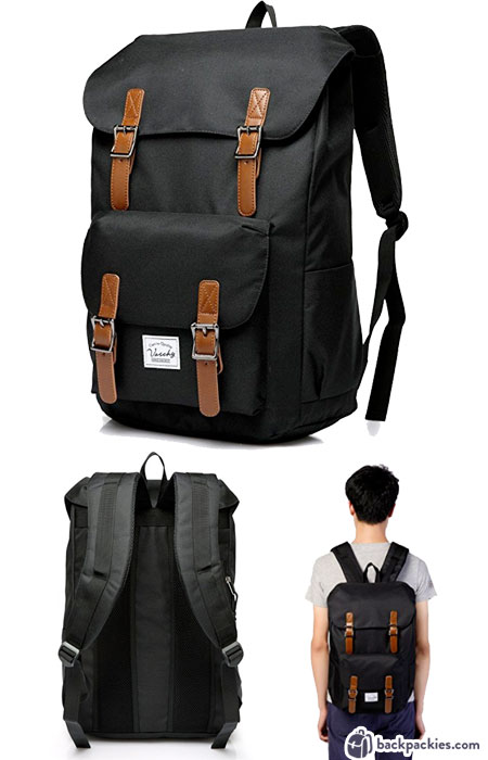 Vaschy backpack - Little America Herschel look alike backpacks - Learn more at backpackies.com