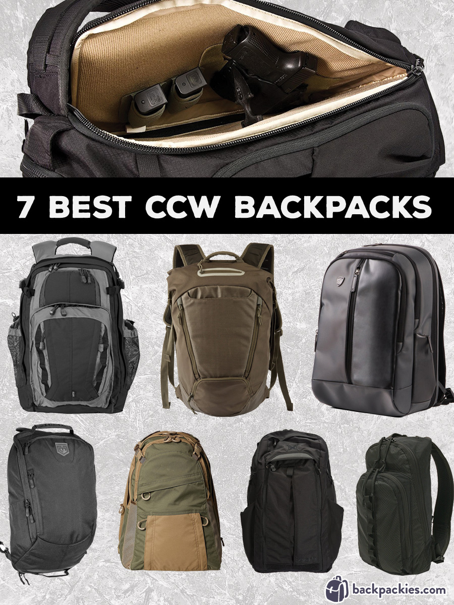 7 Best Concealed Carry Backpacks for Everyday Discreet CCW ...