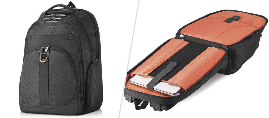 Everki Atlas Laptop Backpack - The closest thing to a dual laptop backpack?