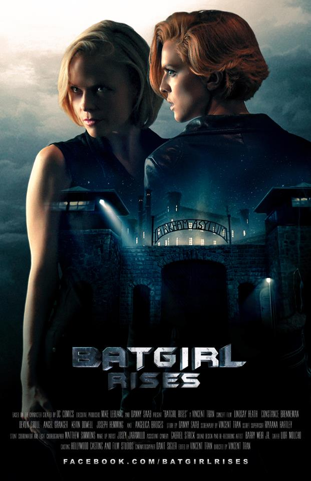 Batgirl Rises (2015) - Distributor: YouTube & DC Comics