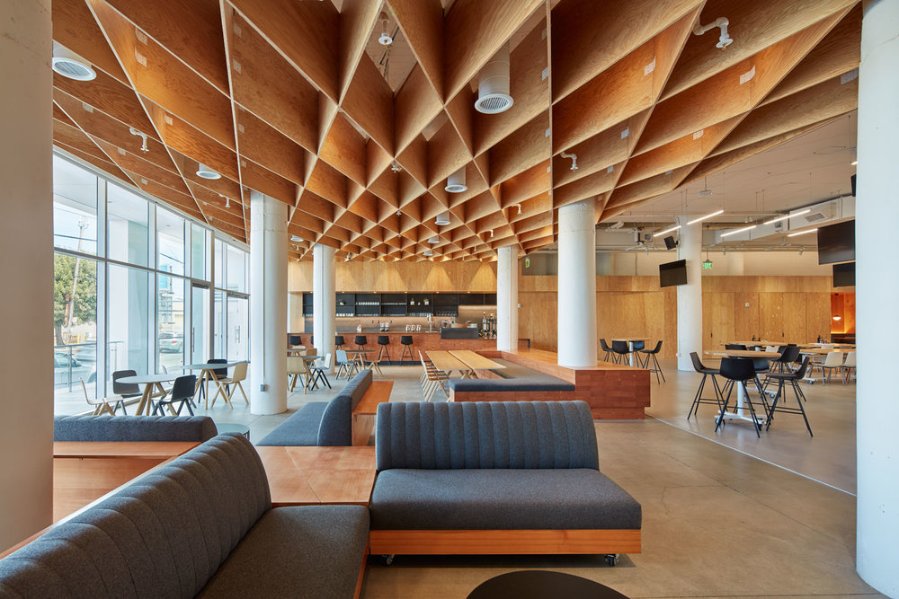 Pinterest Headquarters Interior Lobby