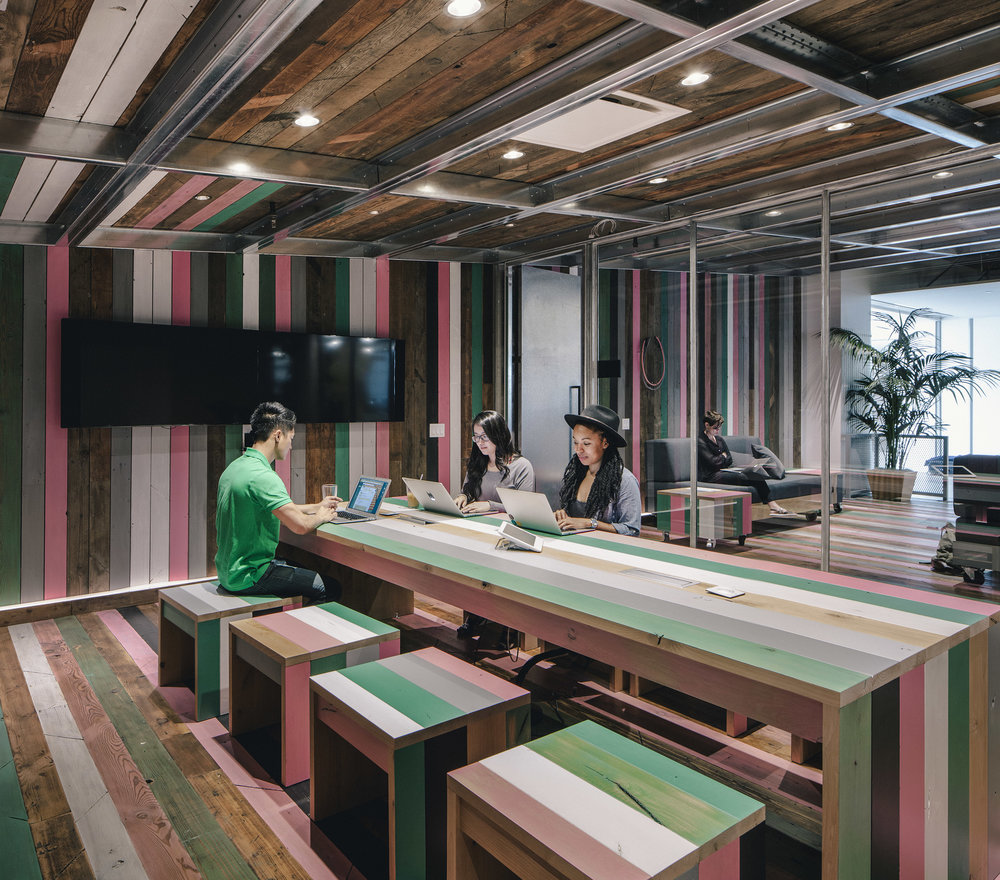 Airbnb Headquarters Workspace