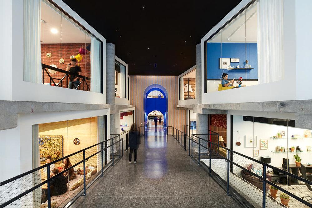 Airbnb Headquarters 2 Corridor