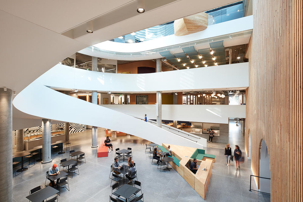 Airbnb Headquarters 2 Atrium