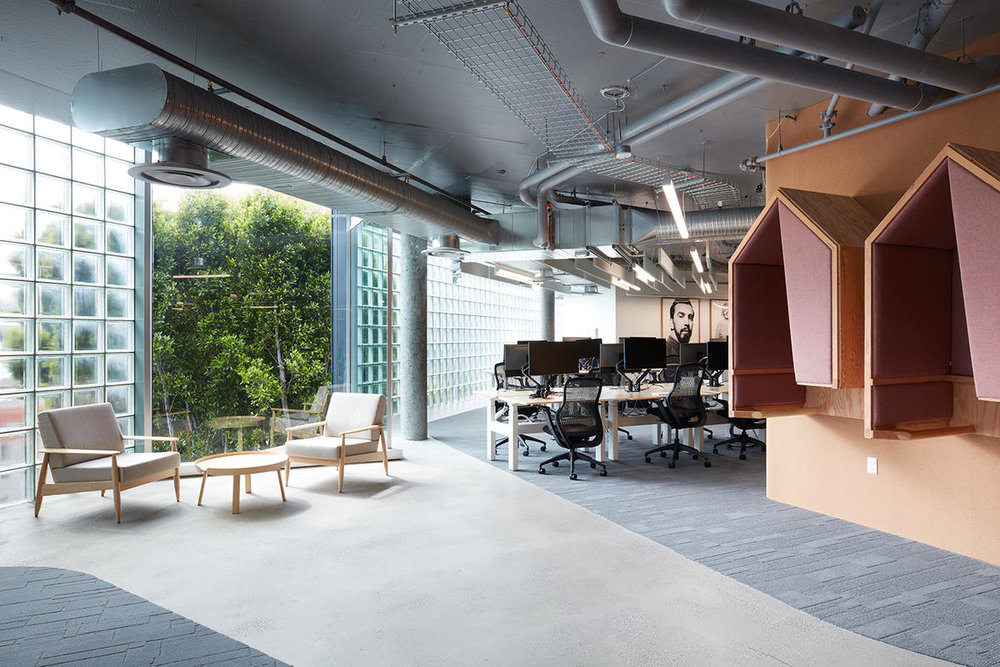 Airbnb Headquarters 2 Desks