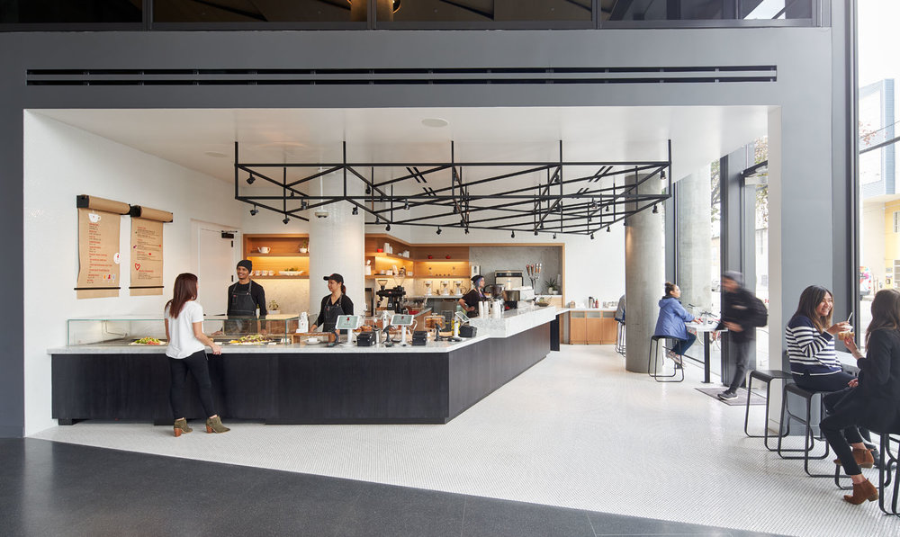 Pinterest Headquarters 2 Lobby Cafe