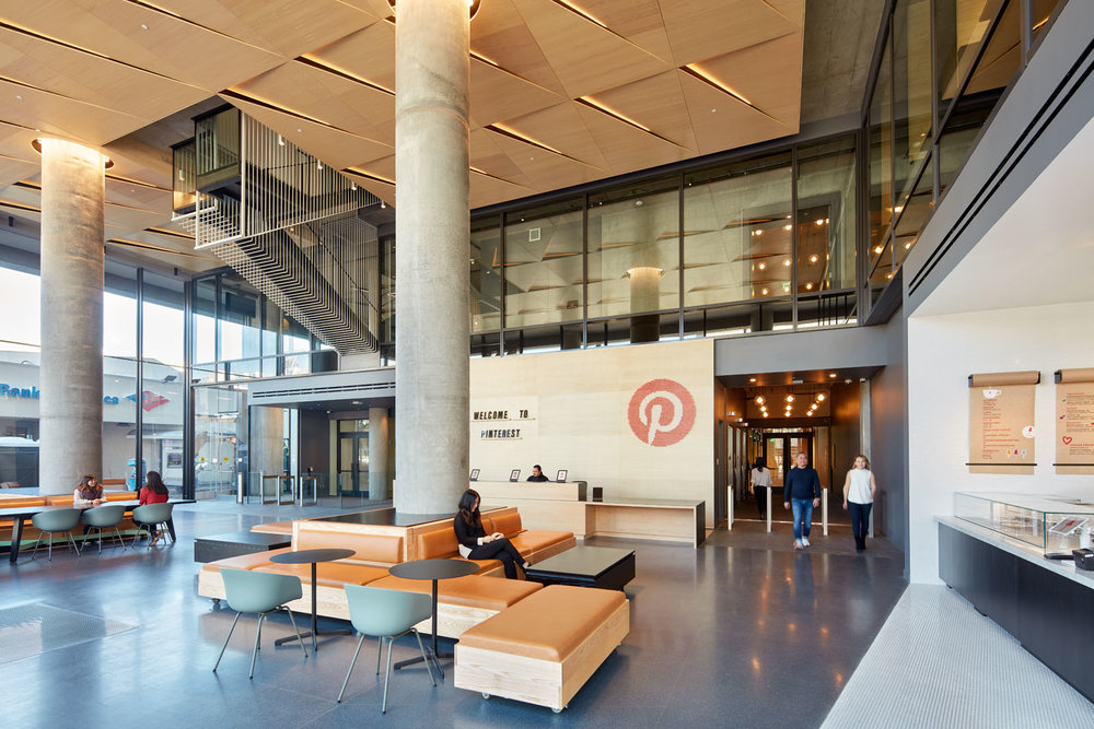 Pinterest Headquarters 2 Lobby