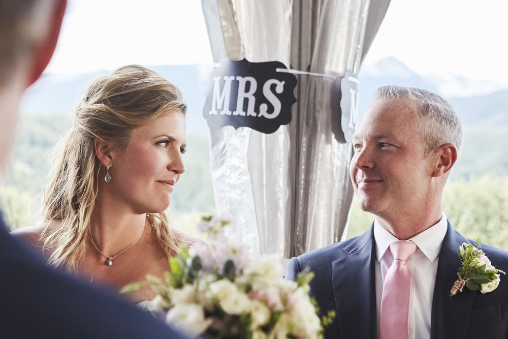 James + Alana's Private Vail Wedding  - Vail, Colorado // Adventurous Colorado CoupleWedding Day Blog Post