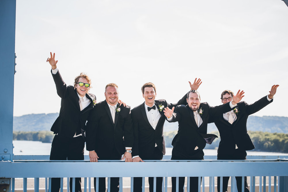 La Crosse Blue Bridge Wedding