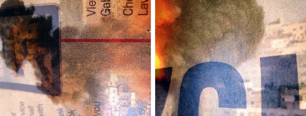 "photograph on archival pigment print, 17"" x 42"", 2015"