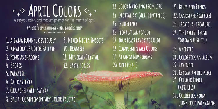 april colors faunwood