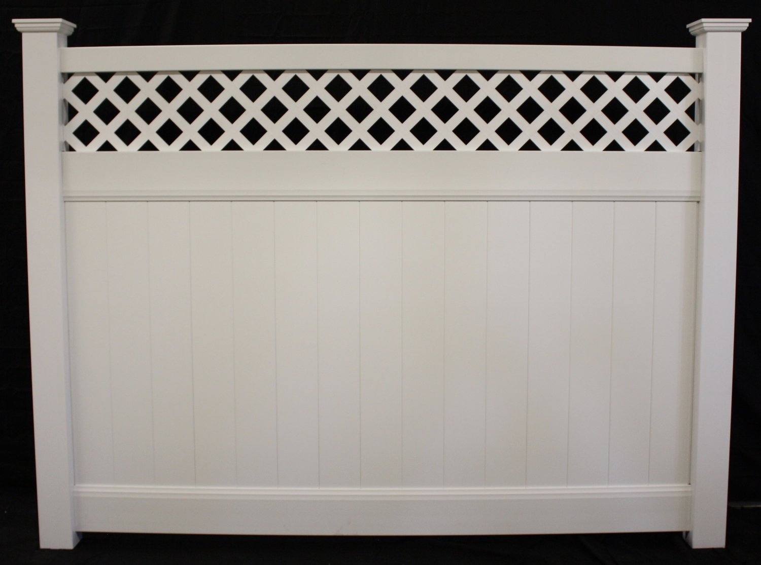 Privacy vinyl lattice top vinyl fence panel buyvinylfence privacy vinyl lattice top vinyl fence panel baanklon Choice Image