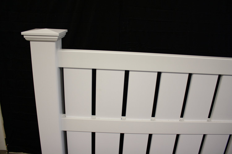 Semi private vinyl fence panel buyvinylfence semi private vinyl fence panel baanklon Gallery