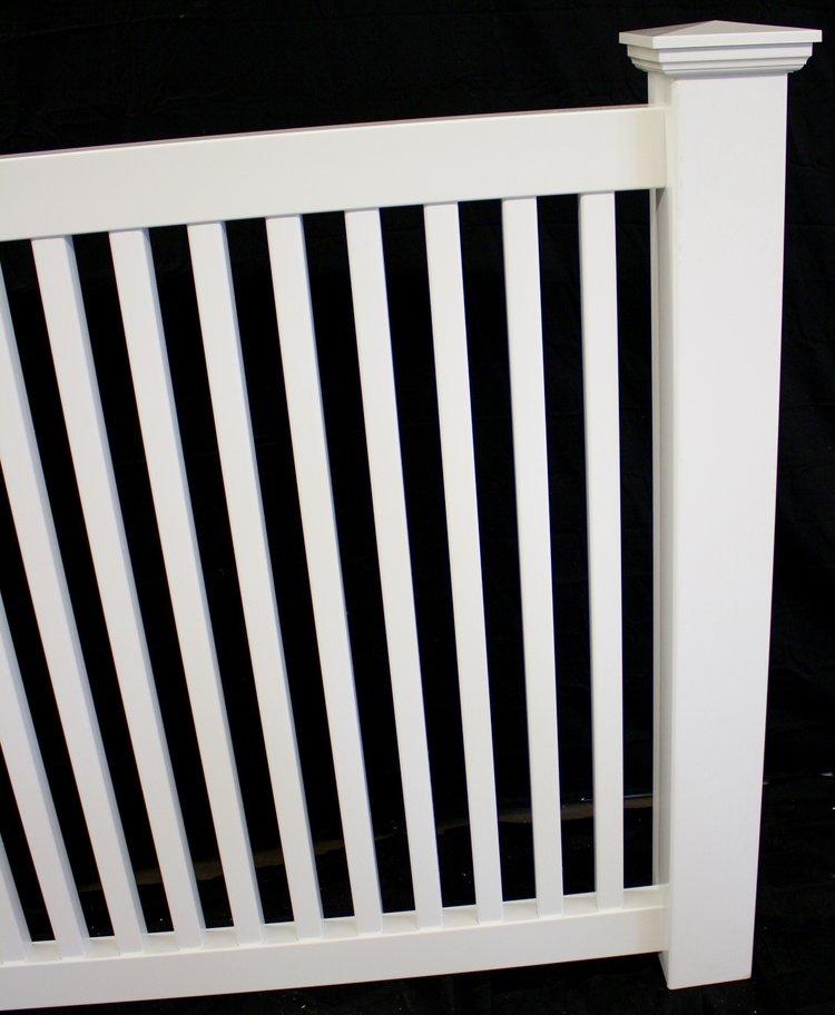 Pool Vinyl Picket Fence Panel BuyVinylFencecom