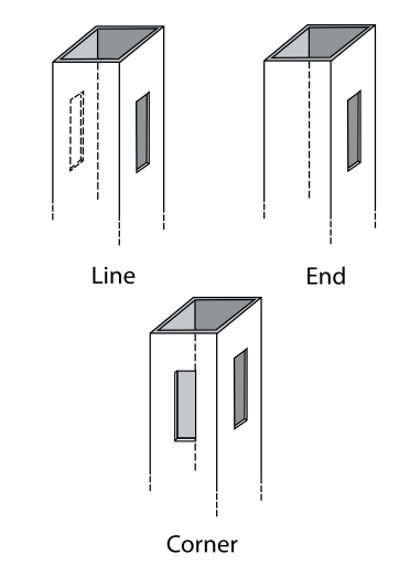 Vinyl Fence Post Options