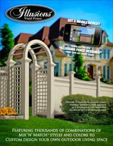 Illusions Vinyl Fence Brochure
