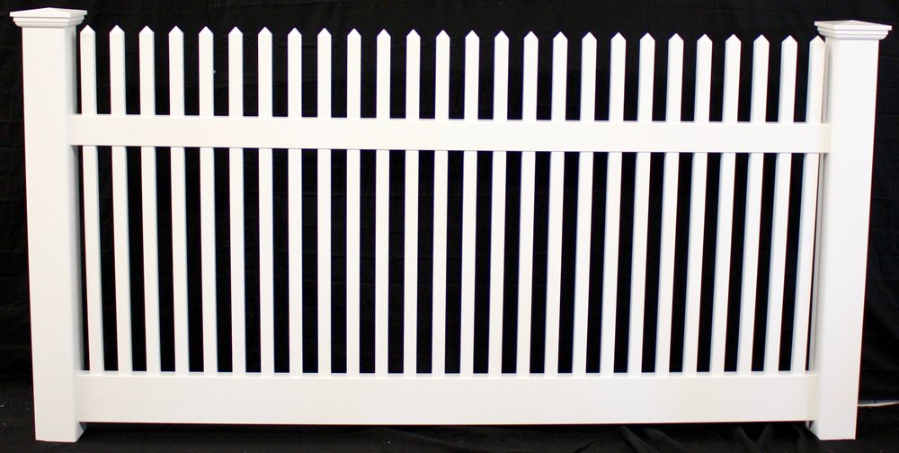Carlstadt NJ vinyl picket fence