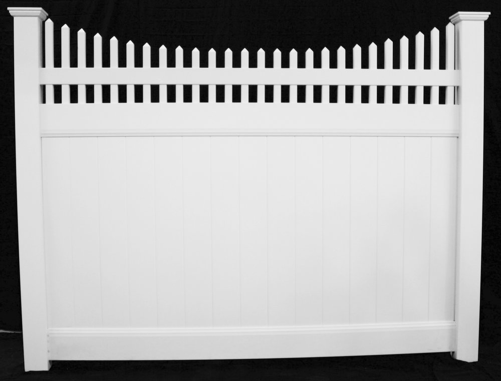 Colonia New Jersey Vinyl Fence