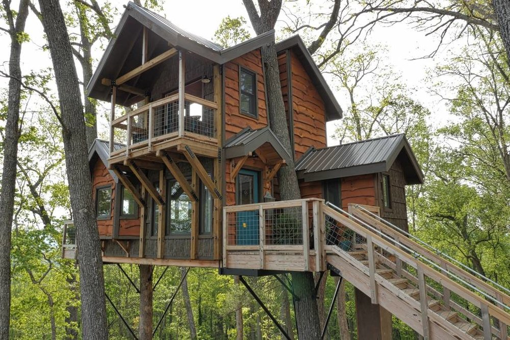 Mountaintop Treehouse w: Sunset Views!.jpg
