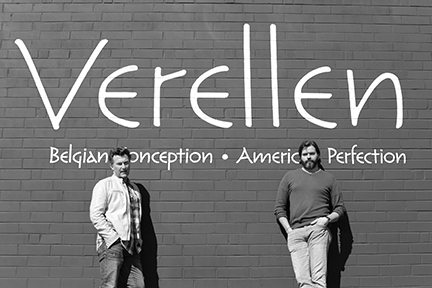 Tom Verellen, left, and Brandon Snyder of Verellen