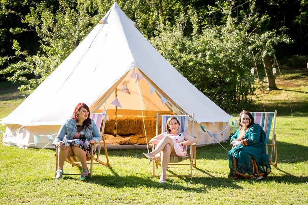 Glamping Festival Wedding Norfolk