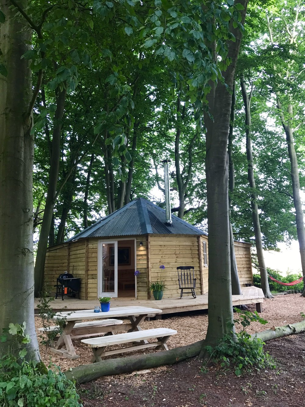 Tree Temple Glamping Norfolk