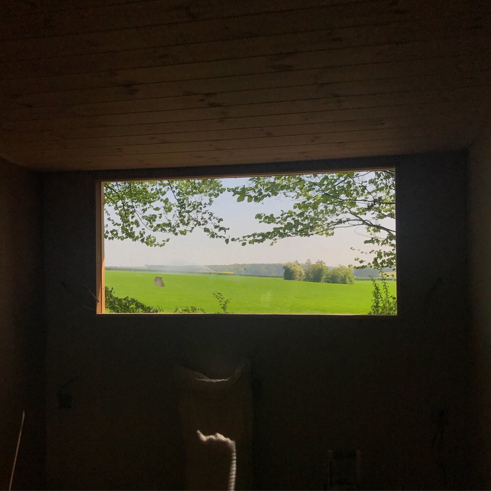 Bedroom with a view in the Woodpecker