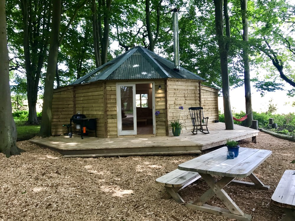 Glamping Norfolk Treehouse