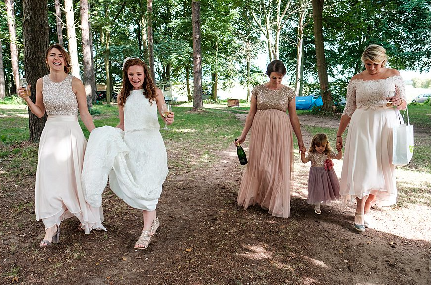 Woodland Wedding Forest Norfolk