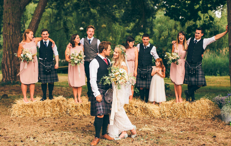 Natural Woodland Wedding Norfolk