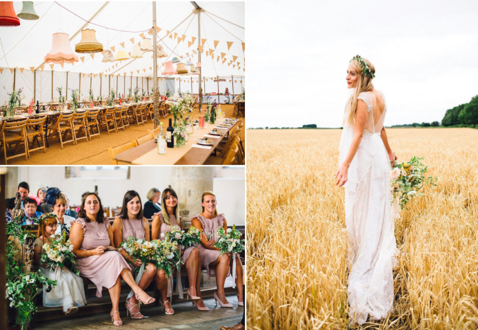 Harvest Wedding Norfolk