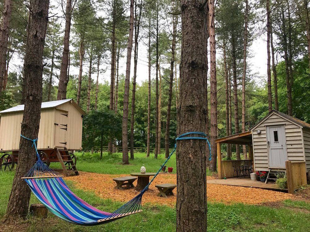 glamping at happy valley norfolk