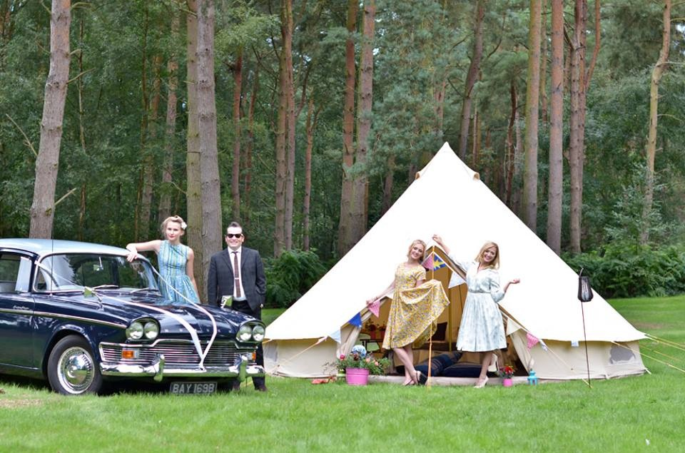 Enjoy Glamping at Tribe Norfolk Weekend - Pic taken from a photoshoot which included 2 posh 2 pitch and Wedding Wheels next to the Sea. Photo Credit - Rebel Heart Team