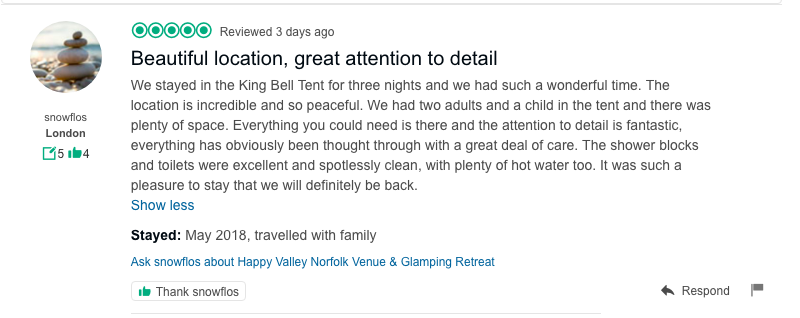 Trip Advisor Happy Valley Norfolk