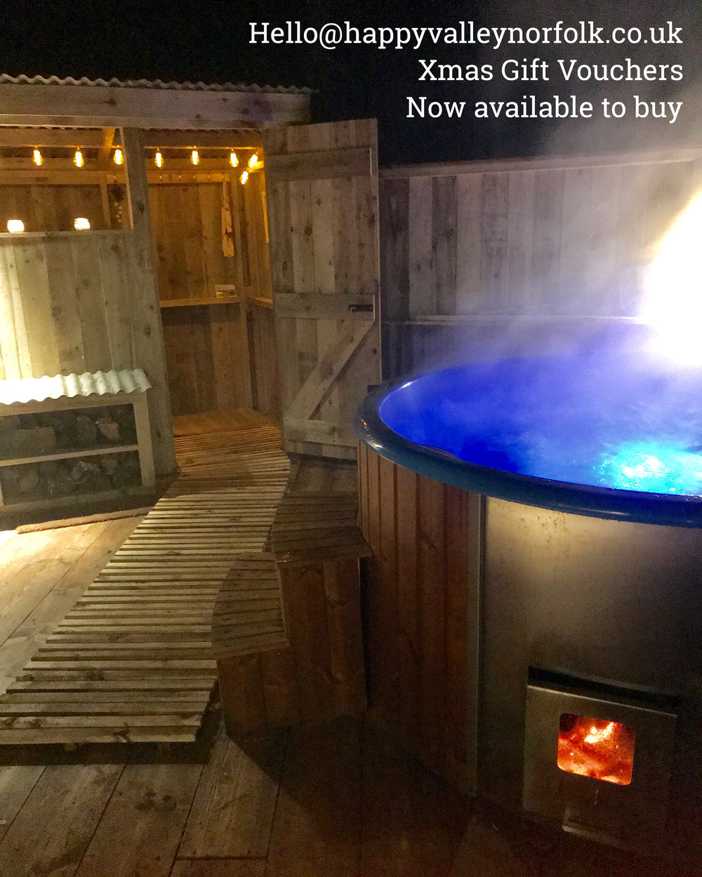Hot Tub Glamping in Norfolk