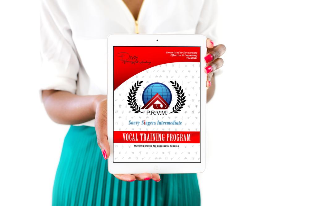 Savvy Singers Intermediate Training Manual-  Digital    $28.99
