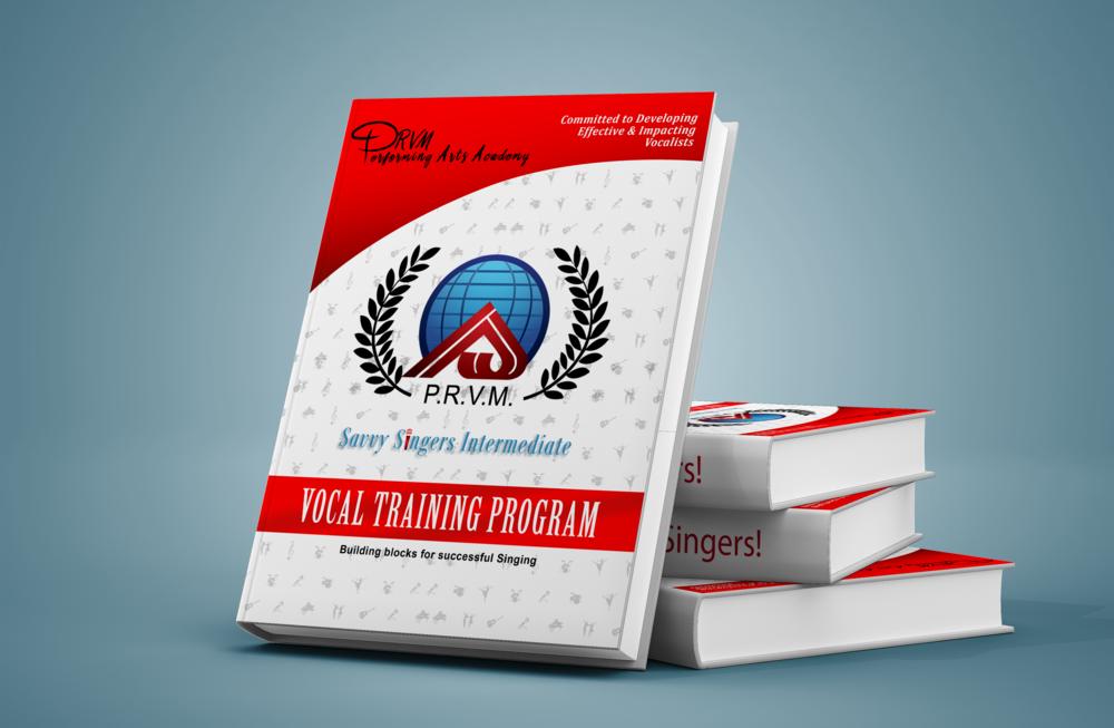 Savvy Singers Intermediate Training Manual-  Hard Copy    $31.37